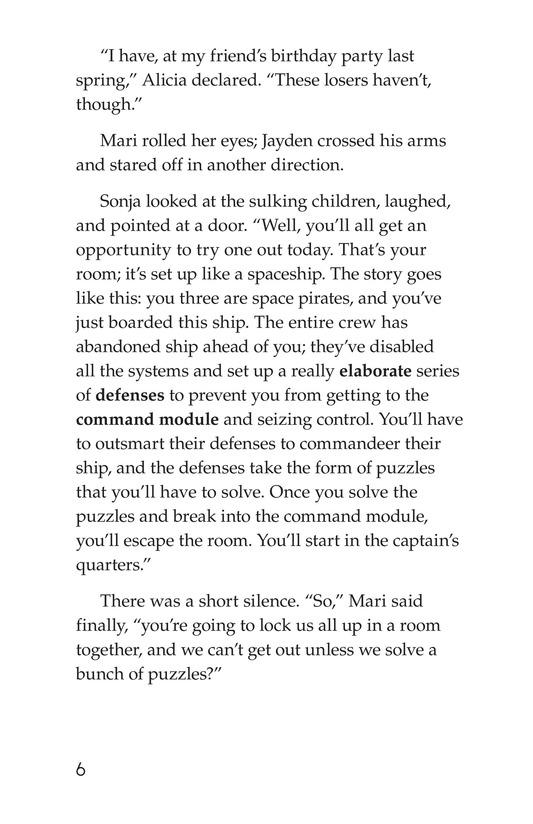 Book Preview For No Escape? Page 6