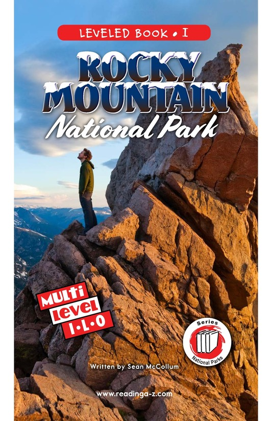 Book Preview For Rocky Mountain National Park Page 0