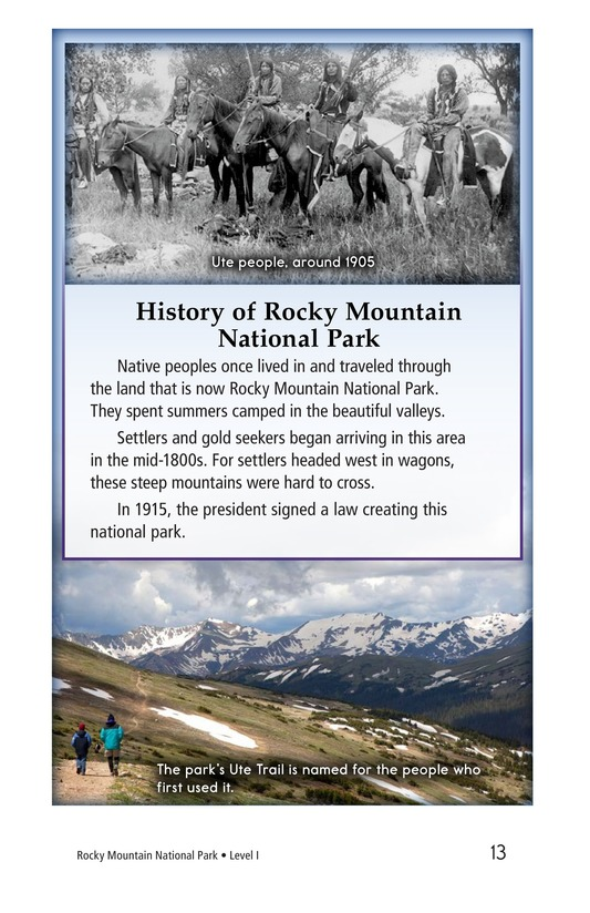 Book Preview For Rocky Mountain National Park Page 13