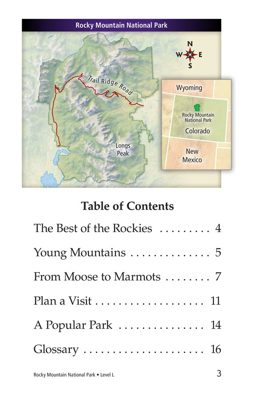 Book Preview For Rocky Mountain National Park Page 3