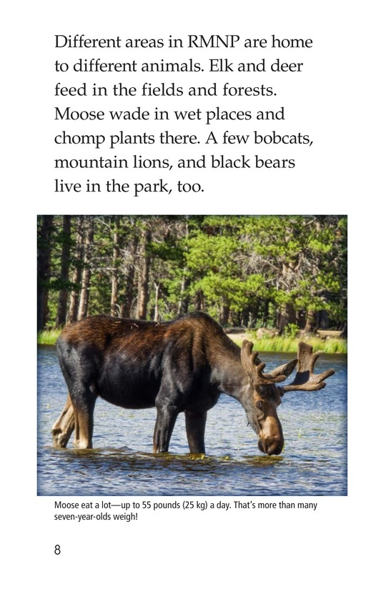 Book Preview For Rocky Mountain National Park Page 8