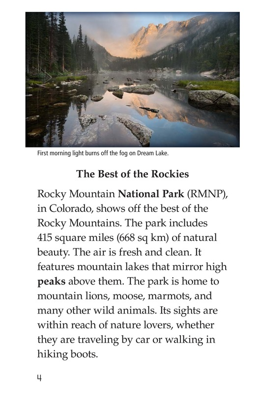 Book Preview For Rocky Mountain National Park Page 4