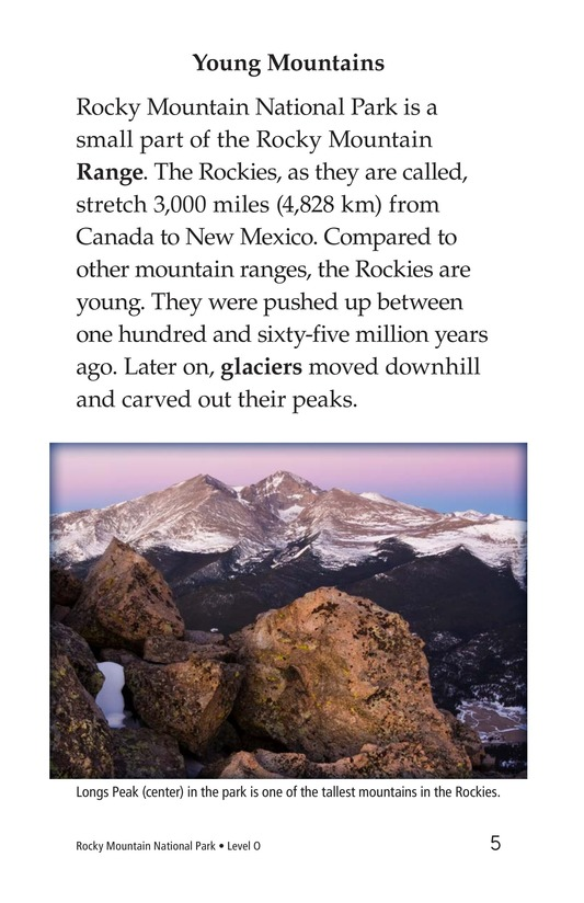 Book Preview For Rocky Mountain National Park Page 5
