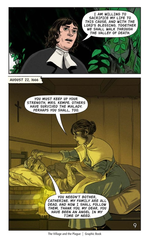 Book Preview For The Village and the Plague Page 10