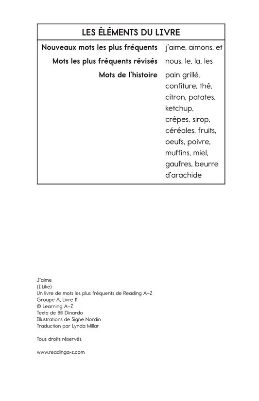 Book Preview For I Like Page 11