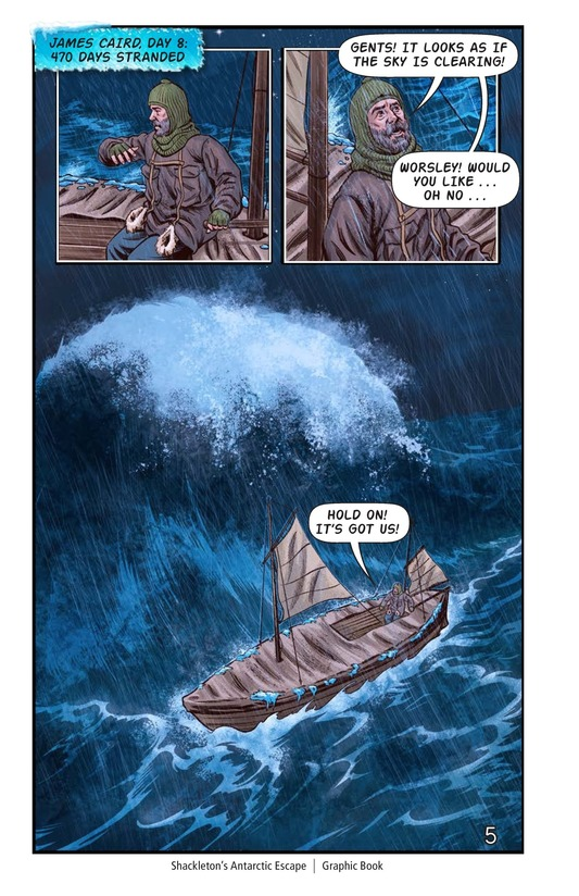 Book Preview For Shackleton's Antarctic Escape Page 6
