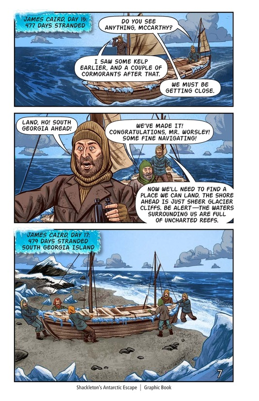 Book Preview For Shackleton's Antarctic Escape Page 8