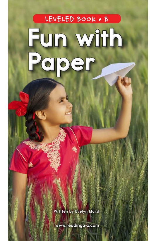 Book Preview For Fun with Paper Page 0