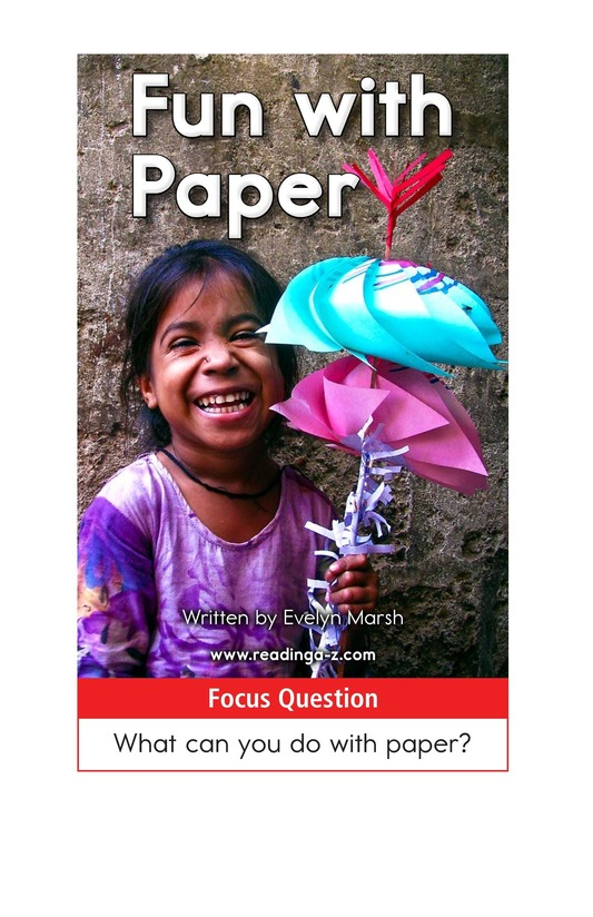 Book Preview For Fun with Paper Page 1