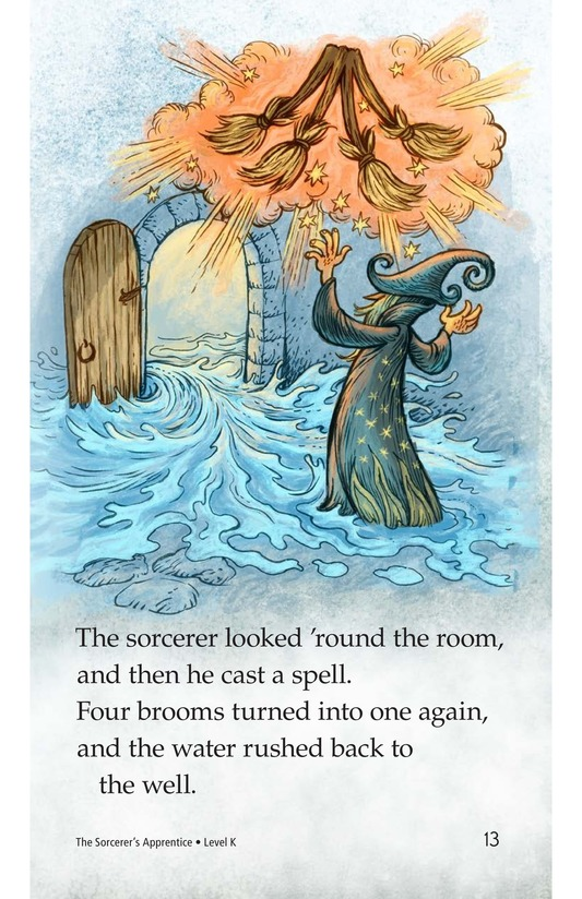 Book Preview For The Sorcerer's Apprentice Page 13