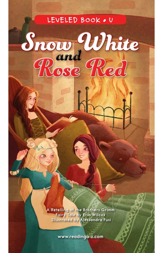 Book Preview For Snow White and Rose Red Page 0