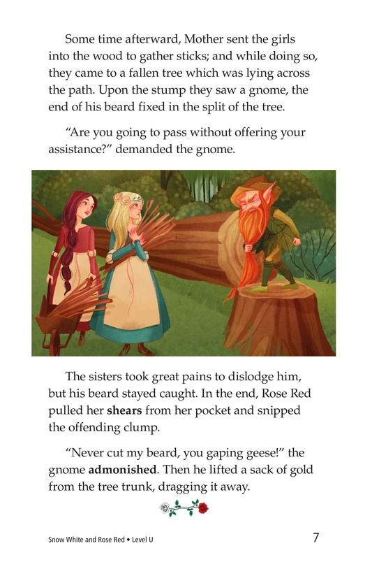 Book Preview For Snow White and Rose Red Page 7