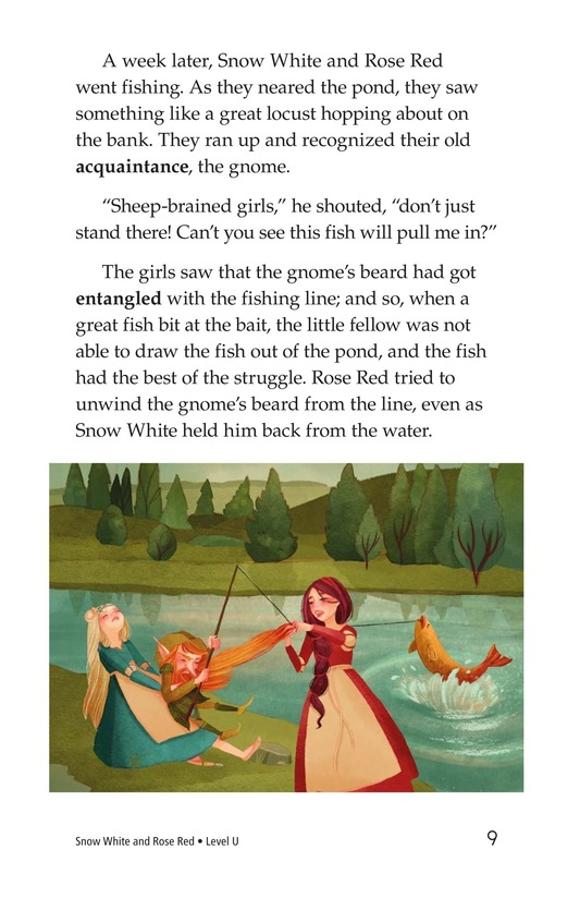 Book Preview For Snow White and Rose Red Page 9