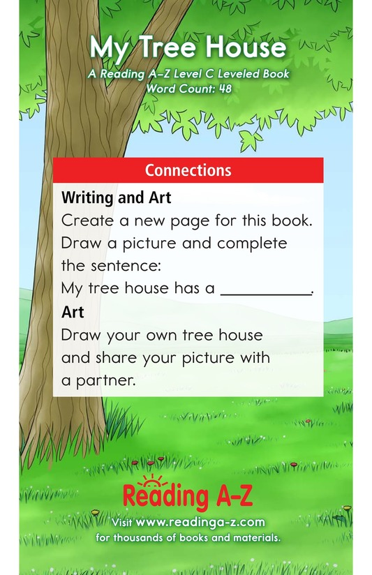 Book Preview For My Tree House Page 11