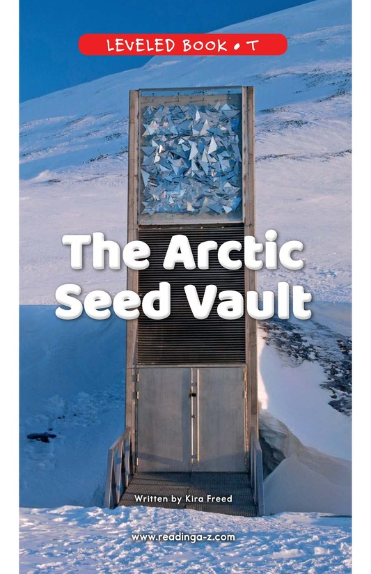Book Preview For The Arctic Seed Vault Page 0
