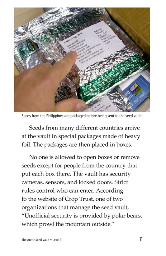 Book Preview For The Arctic Seed Vault Page 11