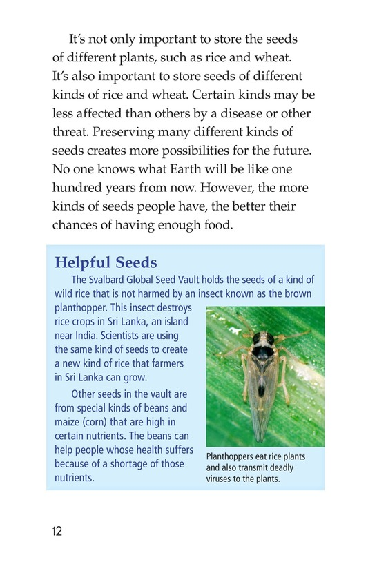 Book Preview For The Arctic Seed Vault Page 12