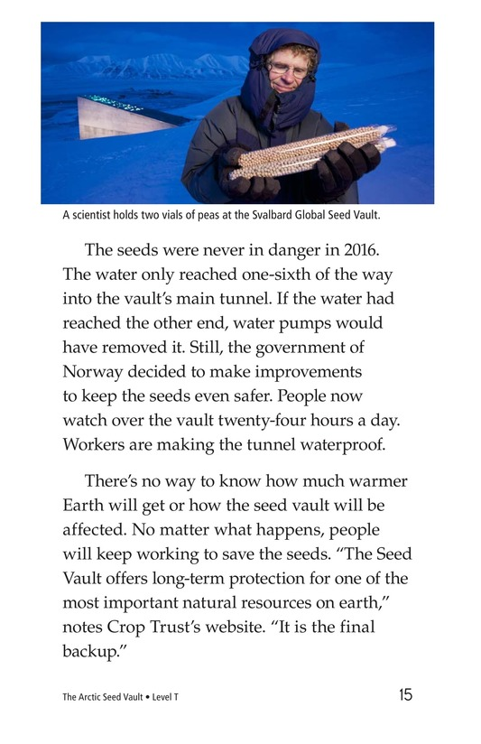 Book Preview For The Arctic Seed Vault Page 15