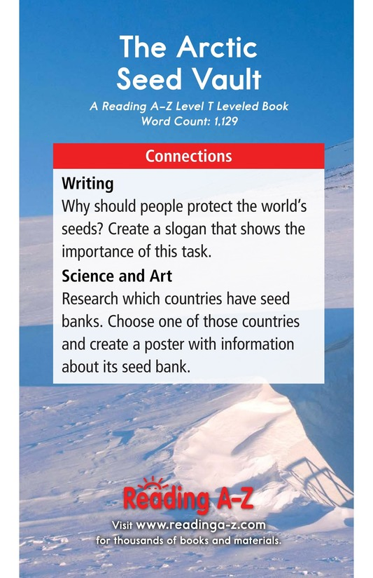 Book Preview For The Arctic Seed Vault Page 17