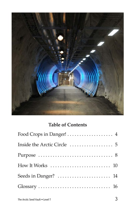 Book Preview For The Arctic Seed Vault Page 3