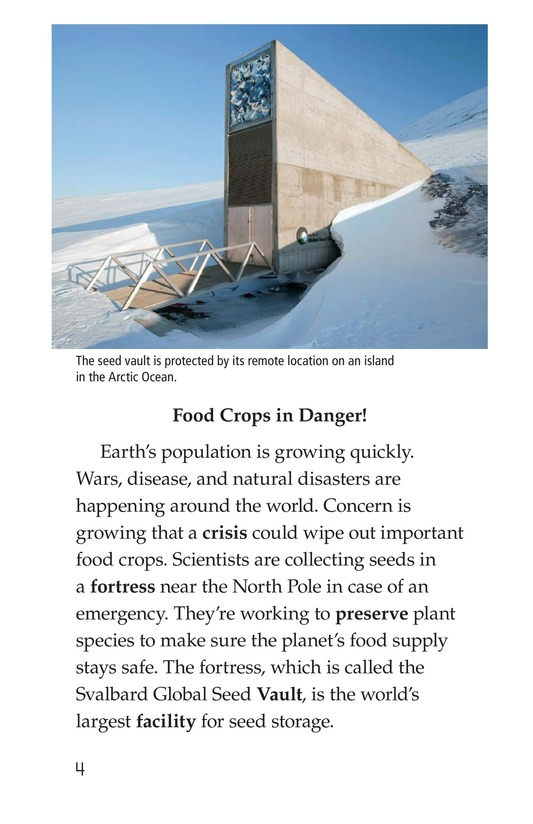 Book Preview For The Arctic Seed Vault Page 4