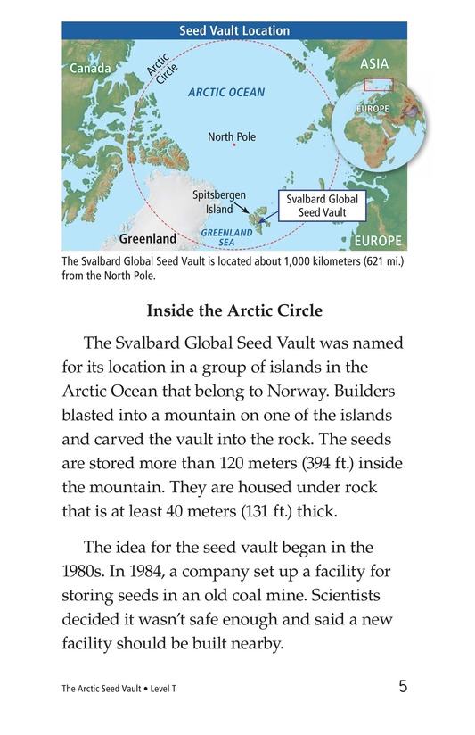 Book Preview For The Arctic Seed Vault Page 5