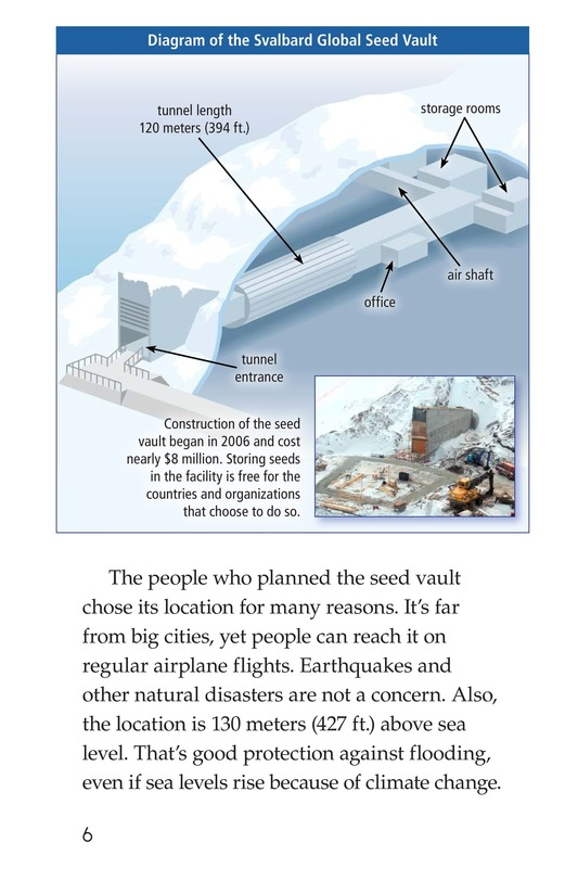 Book Preview For The Arctic Seed Vault Page 6