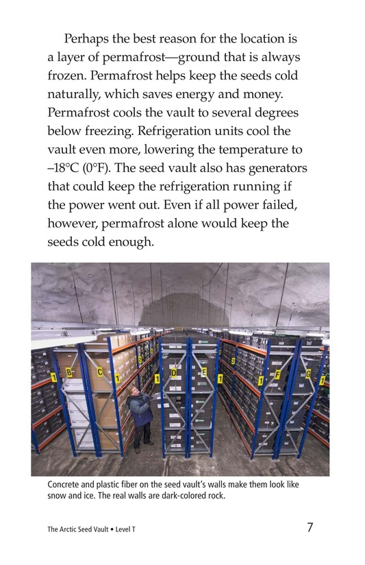 Book Preview For The Arctic Seed Vault Page 7