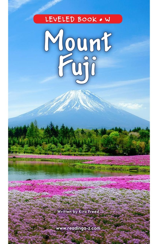 Book Preview For Mount Fuji Page 0