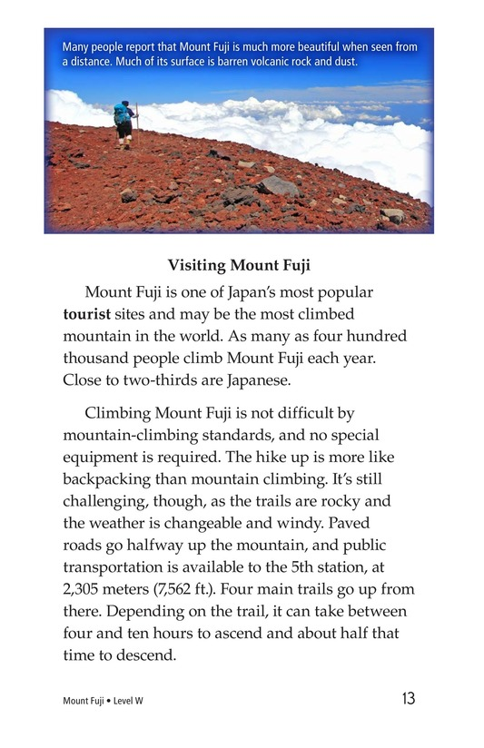 Book Preview For Mount Fuji Page 13