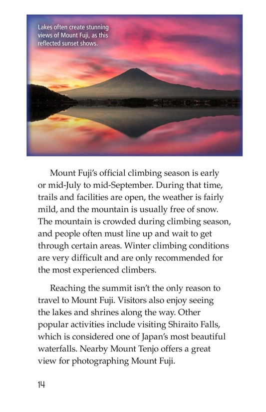 Book Preview For Mount Fuji Page 14
