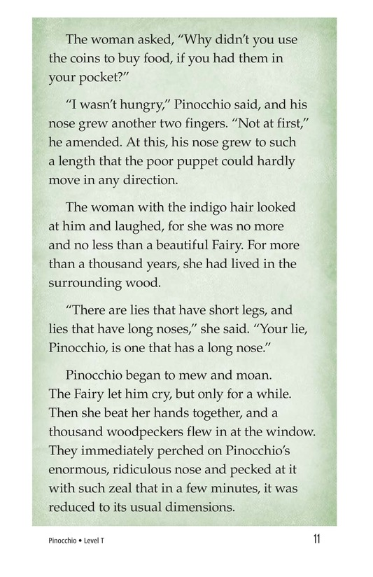 Book Preview For Pinocchio, Part 2 Page 11