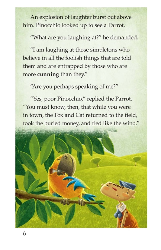 Book Preview For Pinocchio, Part 2 Page 6