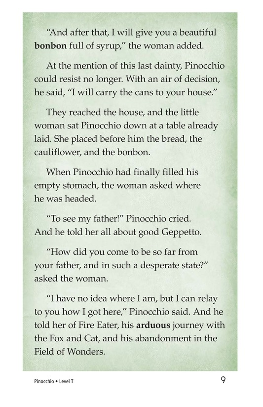 Book Preview For Pinocchio, Part 2 Page 9
