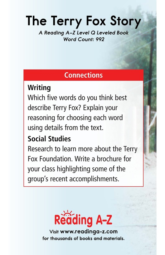 Book Preview For The Terry Fox Story Page 17