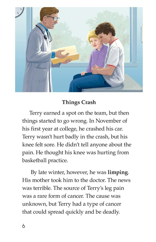 Book Preview For The Terry Fox Story Page 6