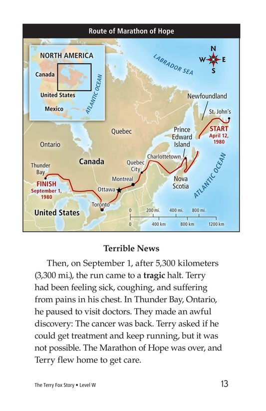 Book Preview For The Terry Fox Story Page 13