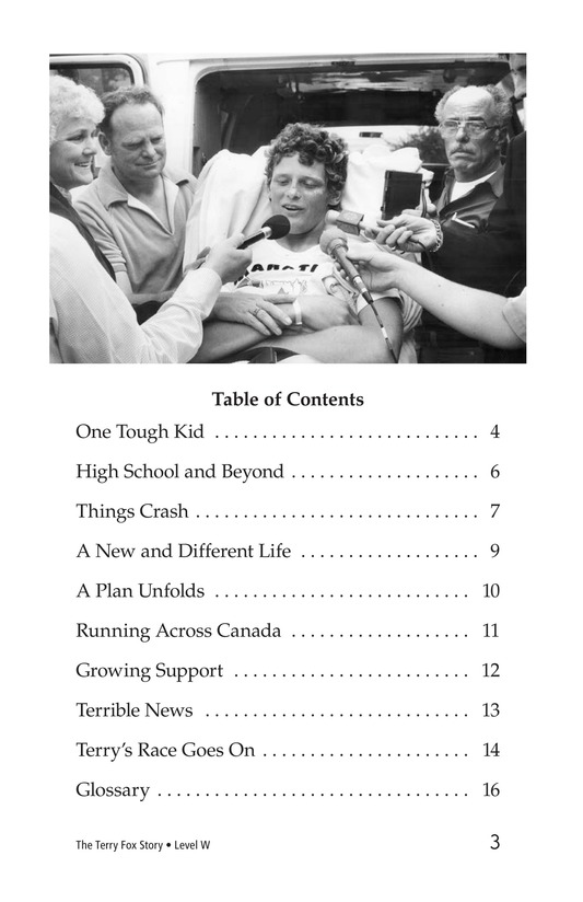 Book Preview For The Terry Fox Story Page 3