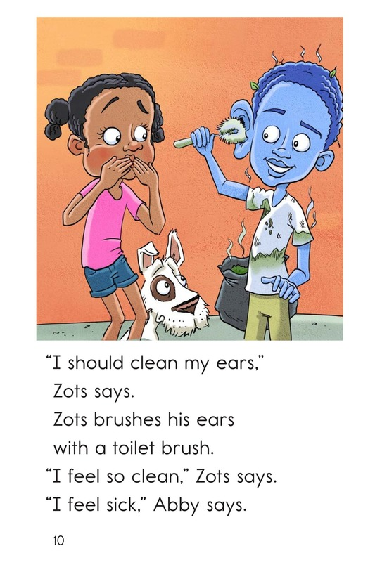 Book Preview For Zots Gets Clean Page 10