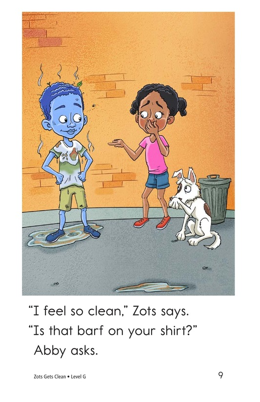 Book Preview For Zots Gets Clean Page 9