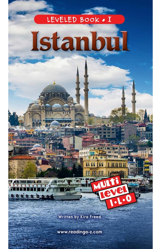 Book Preview For Istanbul Page 0