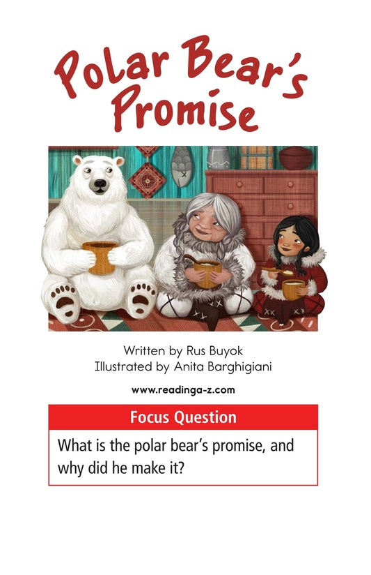 Book Preview For Polar Bear's Promise Page 1