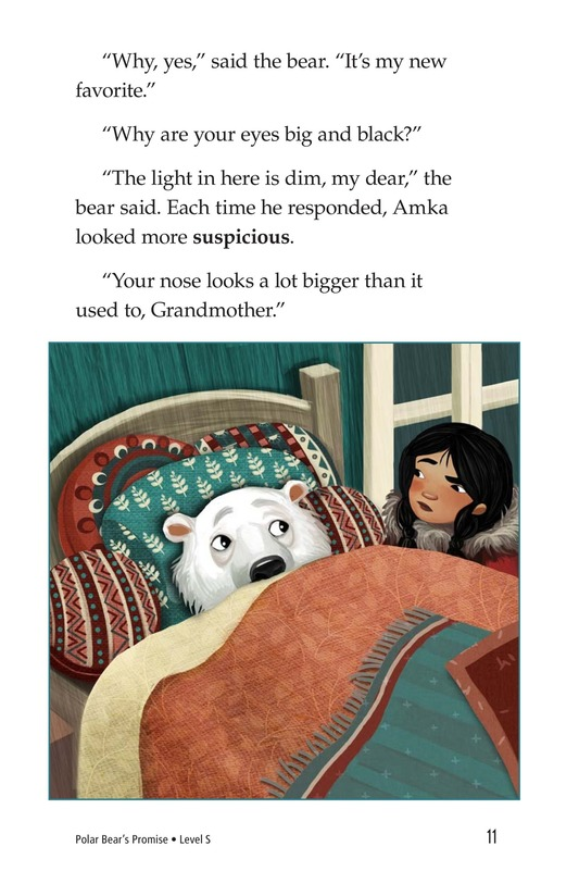 Book Preview For Polar Bear's Promise Page 11