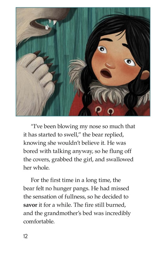 Book Preview For Polar Bear's Promise Page 12