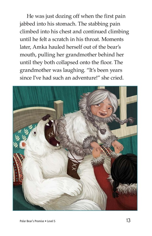 Book Preview For Polar Bear's Promise Page 13