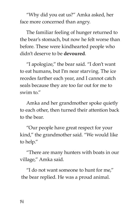 Book Preview For Polar Bear's Promise Page 14