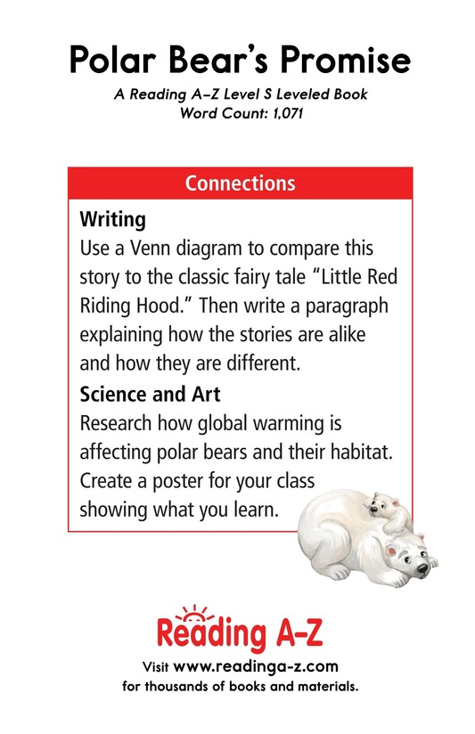 Book Preview For Polar Bear's Promise Page 17
