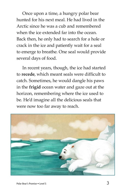 Book Preview For Polar Bear's Promise Page 3