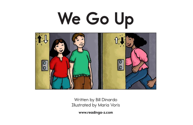 Book Preview For We Go Up Page 2