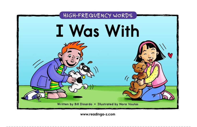 Book Preview For I Was With Page 1